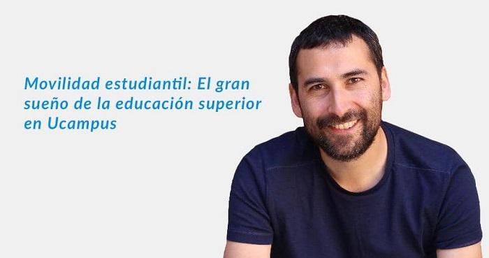Fotografía de Juan Méndez de la UFRO hablando sobre Movilidad Nacional y Ucampus