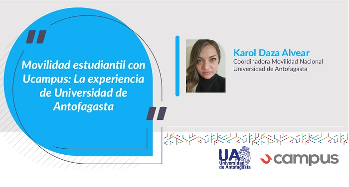 Coordinadora Movilidad Nacional Universidad de Antofagasta