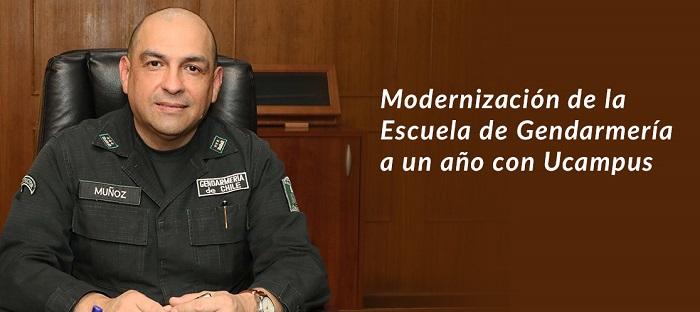 Director de Escuela de Gendarmería hablar sobre el primer año junto a Ucampus