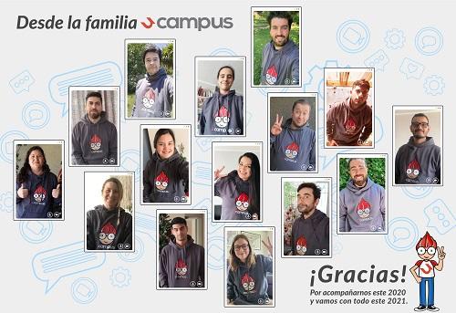 Feliz 2021 desde equipo Ucampus