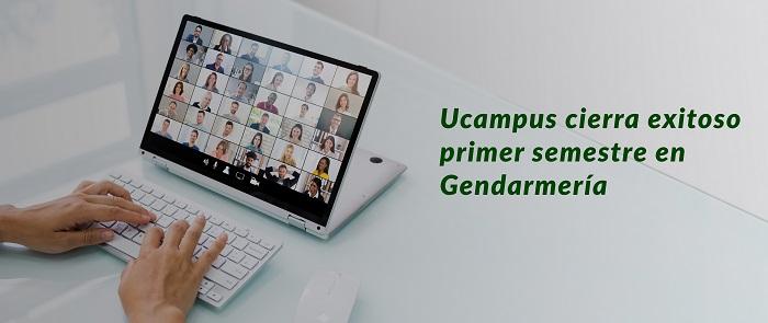 Clases virtuales Ucampus en Gendarmería